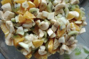 crok midi du 16 février salade de fruit