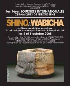 affiche 8   Terre et Terres   Journées Céramique   Les 1ères Journées Internationales Céramique de Giroussens les 4 et 5 octobre 2008   Article   Terre et Terres   23 juillet 2017