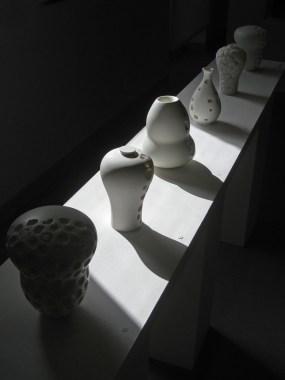 Exposition 2018 Dérive des Contenants - Céramiques de Rebecca Maeder