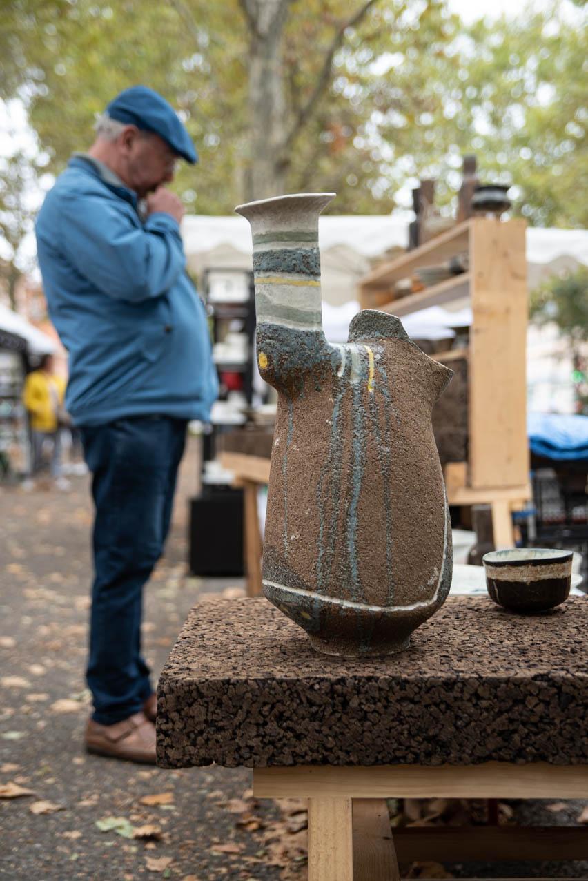 Allees ceramiques 2019 ChristoheDeBellefroid2 Photo JLogeay | Terre et Terres | Marché Toulouse | Les Allées Céramiques Annulé à Toulouse les 10 et 11 octobre 2020 | Article | Terre et Terres | 8 octobre 2020