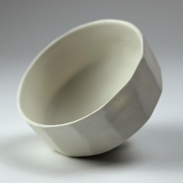 Bol U 2b   Eric Faure   Bol U   Produit   70,00€   6266   Bol tourné et sculpté en porcelaine émaillée   Eric Faure   Terre et Terres   26 juin 2021