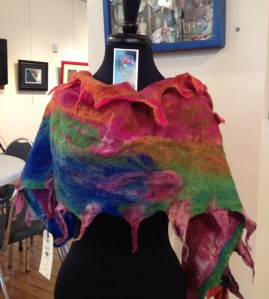 "Fibers at ""Art a la Carte"" -Artel Gallery"