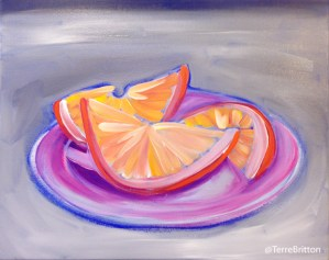 """I Am Orange III"" (c)2013 By Terre Britton"