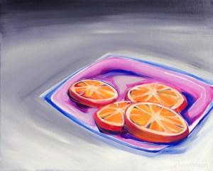 """""""I Am Orange IV"""" (c)2013, Terre Britton"""