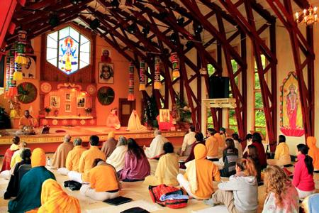 Enseignement de la Méditation dans un centre Sivananda