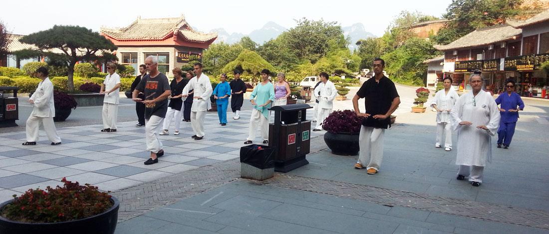 Cours de Qi Gong au Wudang