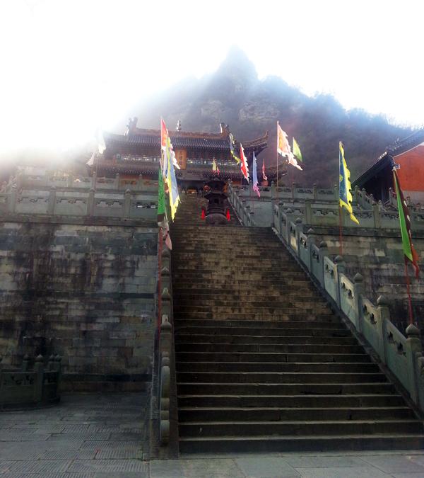 Marches du temple