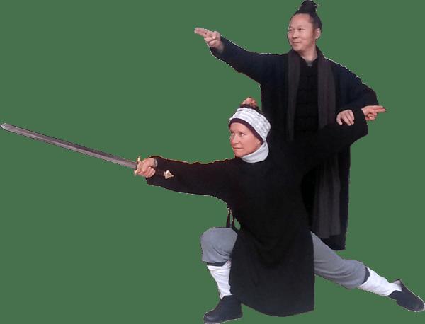 Catherine-Isaure Bousquet et Maître Yuan Li Min