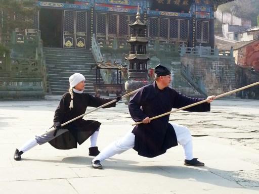Maître Chen Li Sheng et Catherine Bousquet