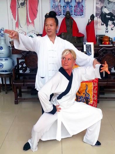 Maître Yuan Li Min et Catherine-Isaure Bousquet