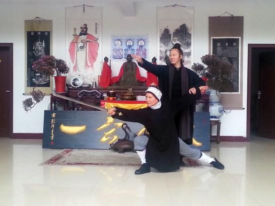 Technique Ci, sous le regard de Maître Yuan Li Min, décembre 2016