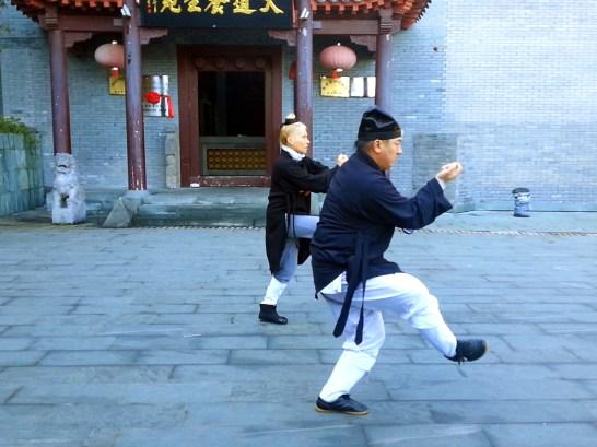 Xing Yi Quan avec Maître Chen Li Sheng et Catherine Bousquet au Wudang