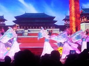 Spectacle à l'opéra de Xi An, août 2016