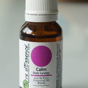 Calm Body Synergy, Essential oil blend