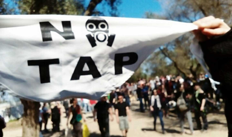 No Tap, no al gasdotto a San Foca di Melendugno, in Puglia