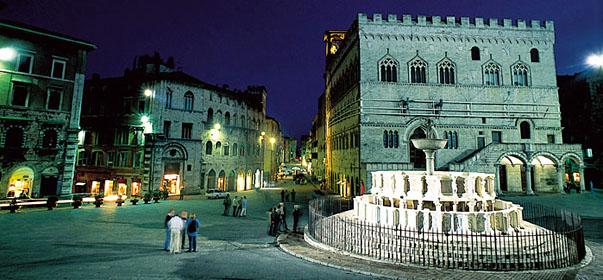Perugia Assisi Gubbio e Lago Trasimeno  Umbria  Viaggi di Istruzione e campi scuola