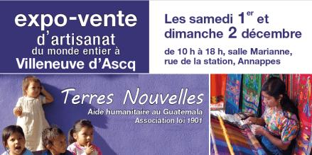 erres Nouvelles à Villeneuve d'Asqc -Aide au Guatemala