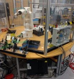 university of the west of england uwe bristol bristol robotics laboratory abb irb 120 [ 4618 x 3464 Pixel ]