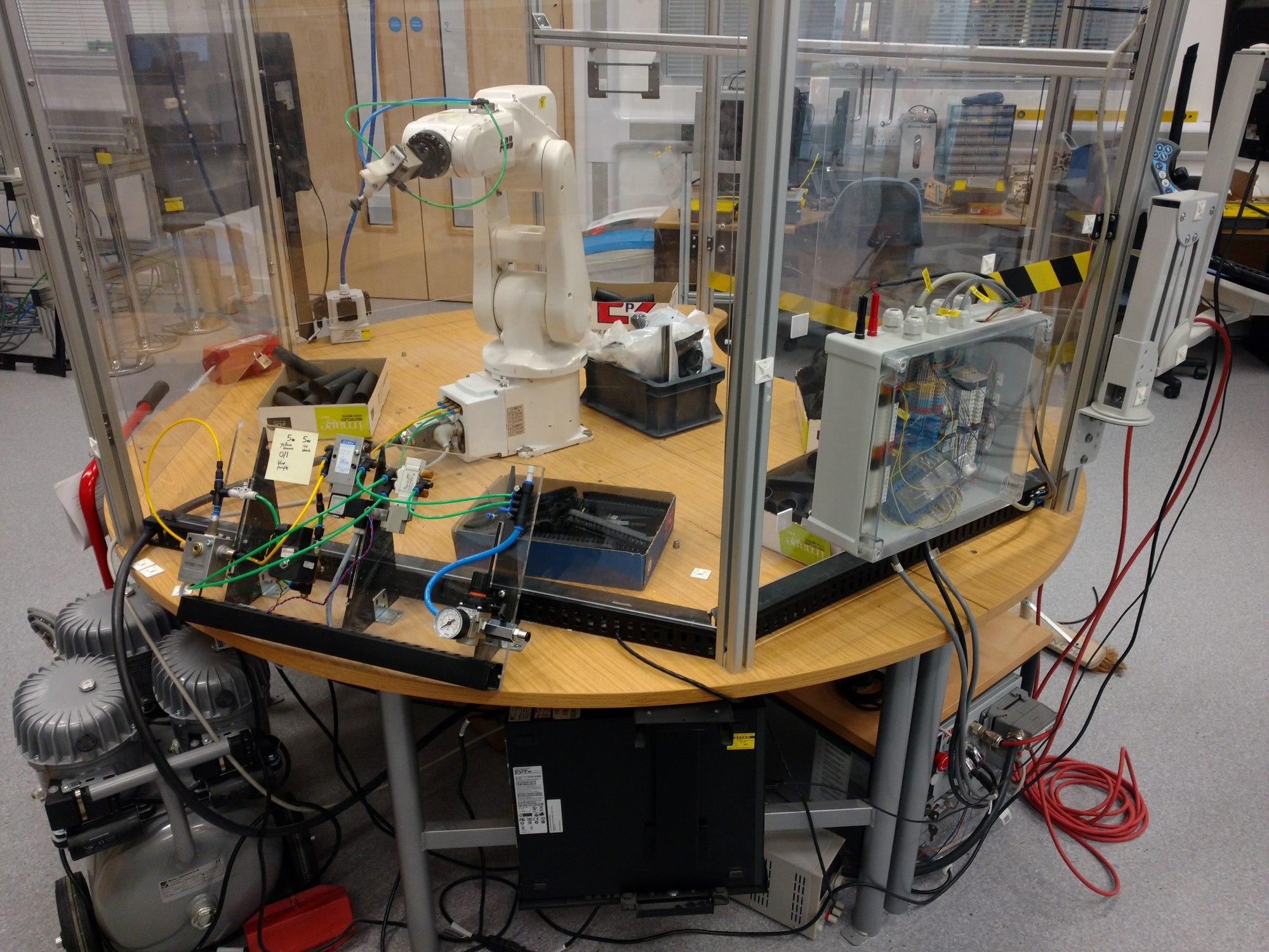 hight resolution of university of the west of england uwe bristol bristol robotics laboratory abb irb 120