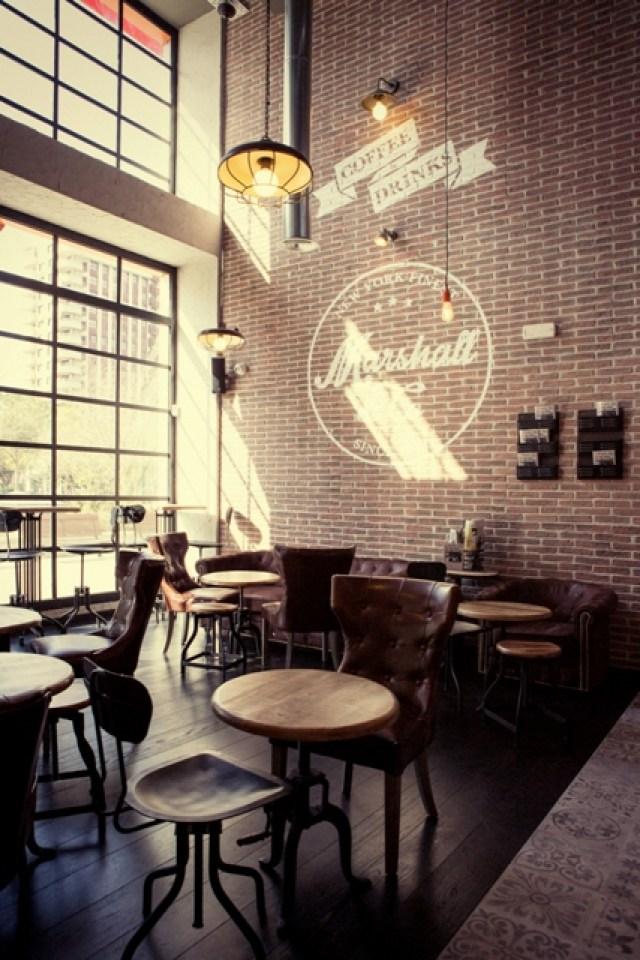 mobiliario de bar sala Marshall & Co