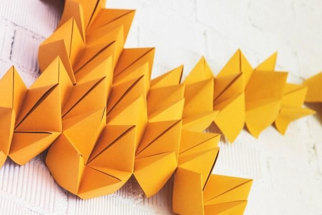 Empaperart_detalle origami fuegos artificiales