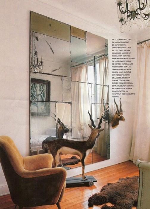 como decorar espacios pequeños. ciervo