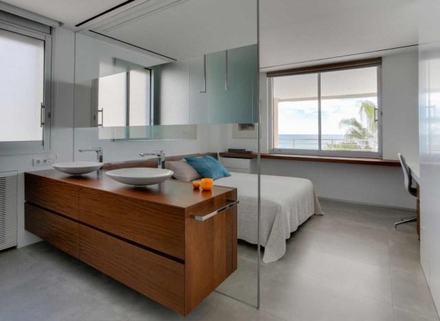 proyecto de interiorismo de vivienda. sanahuja baño