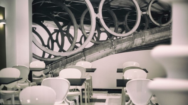 diseño de interiores hotel Monte Triana. bar