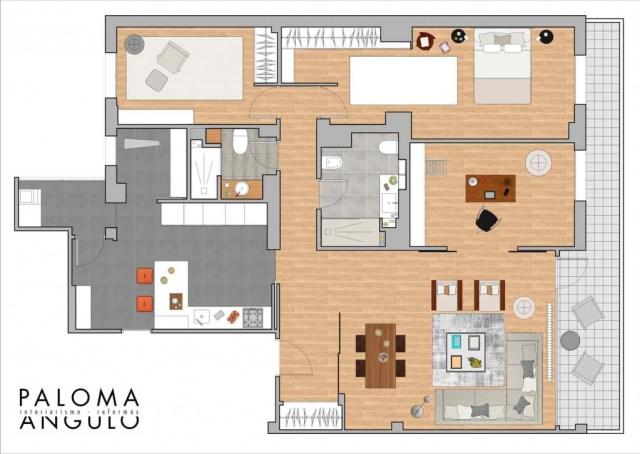 plano reformado para reformar una vivienda en Madrid