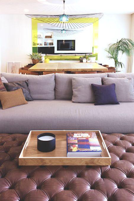 salón de vivienda funcional y acogedora