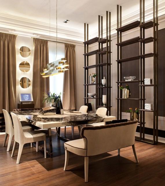 comedor privado de Inma Recio y Silvia Trigueros. espacios de decoradores de interiores