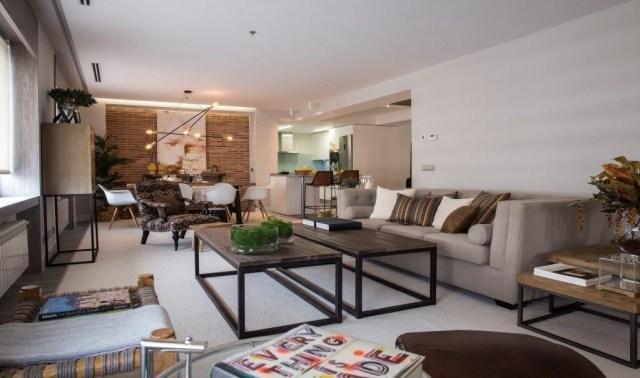 apartamento de estilo industrial de Marisa Gallo