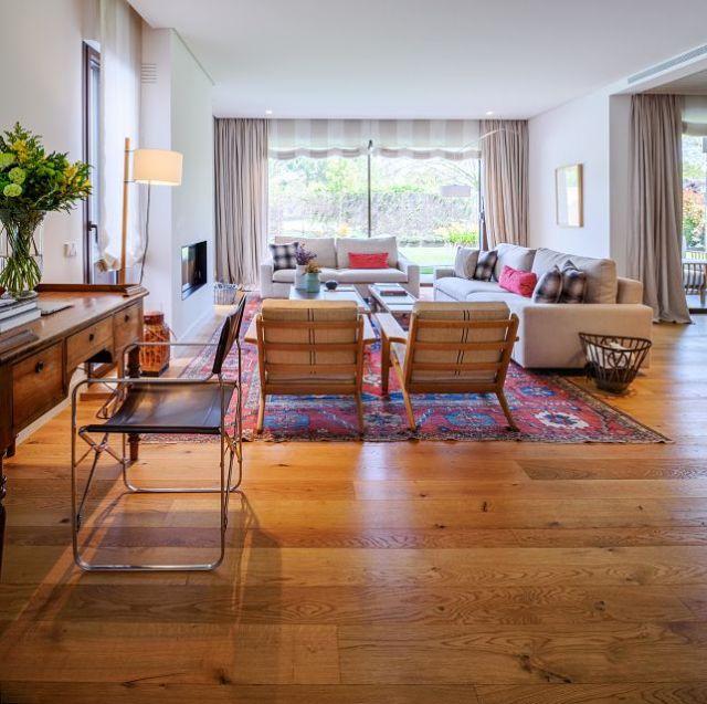mobiliario a medida en salón de vivienda