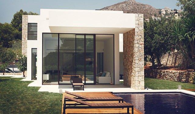 arquitectura y diseño de la casa el portet