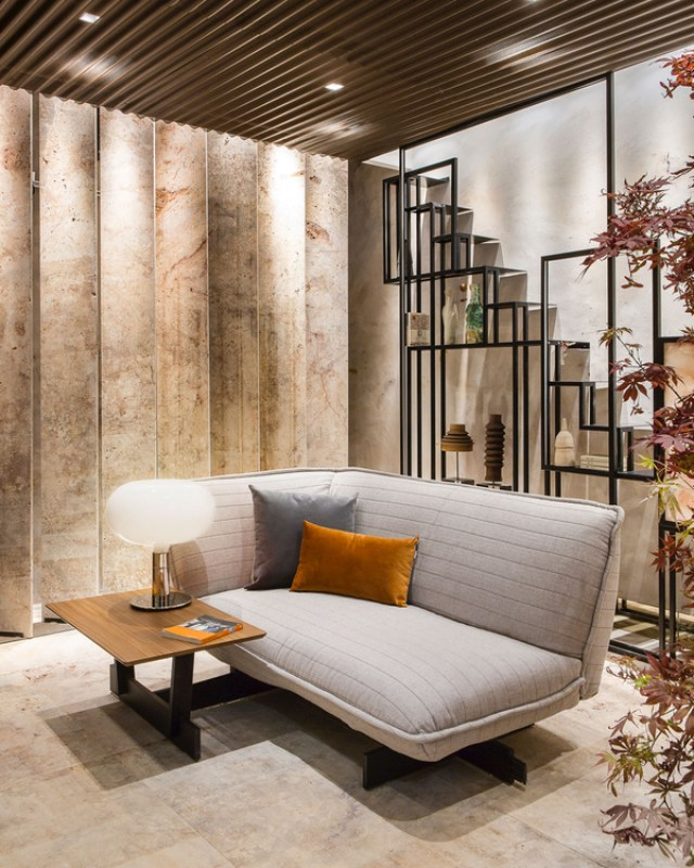 Sala de estar zen de Sanco Factory en Casa Decor 2017