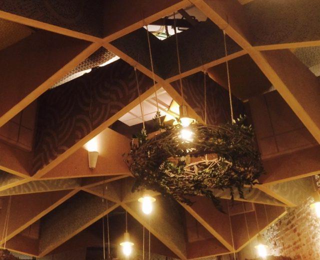 Imagen del techo del auditorio de Casa Decor 2017