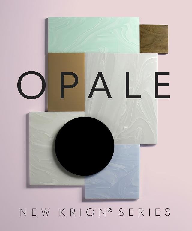 Opale nueva serie de Krion en Porcelanosa Experience