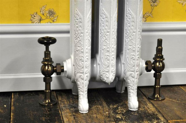 radiador de hierro fundido clásico