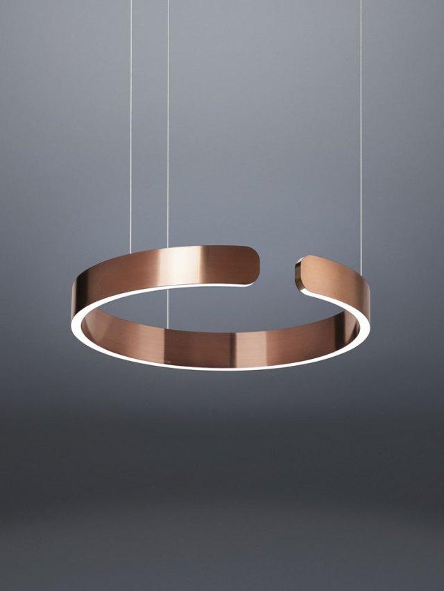 Iluminación técnica con lámpara Mito de Occhio