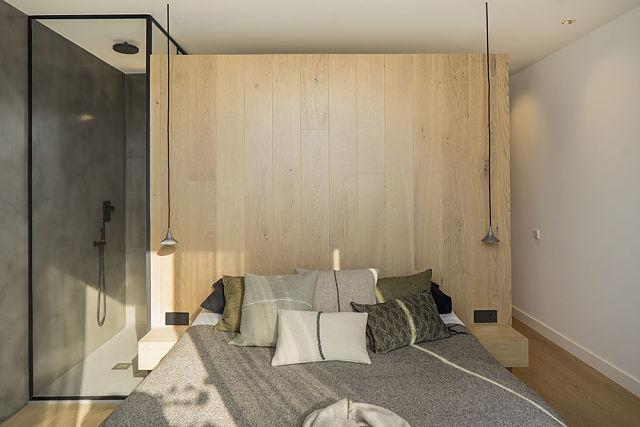 Idea interior de decoración de dormitorio