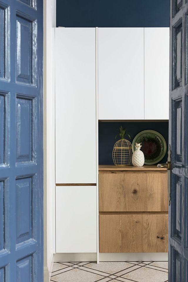 Detalle de cocina de diseño interior de un palacete en Córdoba
