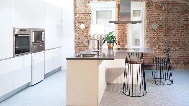 Decoración de apartamento y cocina en Madrid