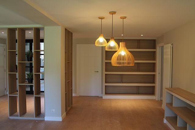 Salón comedor de diseño de interiores nórdico