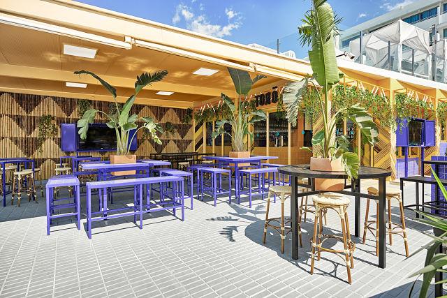 Decoración de bar y terraza Töro