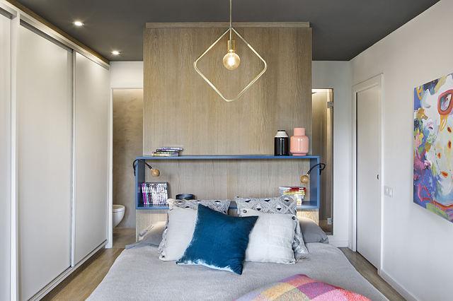 Transformar un loft con dormitorio abierto