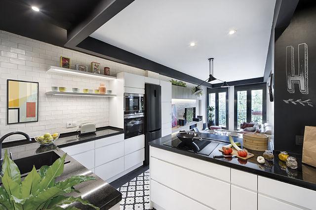 Transformar un loft con cocina abierta