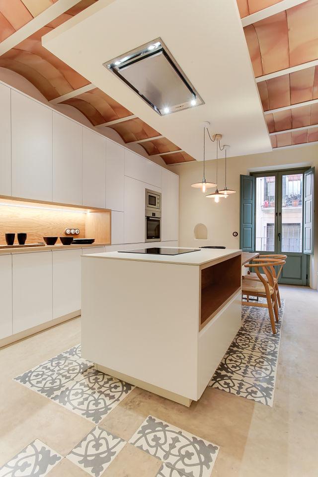 Reforma interior de cocina
