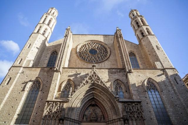 Basílica de Santa María del Mar en el Born, Barcelona