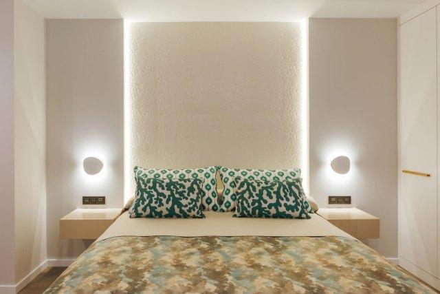 Diseño de dormitorio en Interiorismo moderno