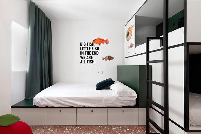 Decoración de habitación de hoteles
